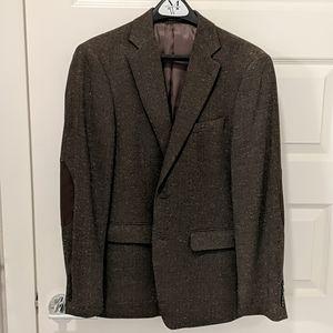 Calvin Klein Heathered Brown Sport Coat
